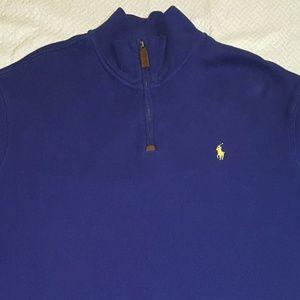 Ralph Lauren Polo mens sweater XL, Blue